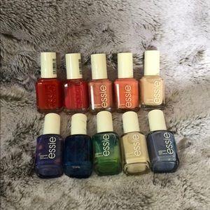 essie Makeup - Essie nail bundle